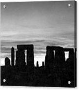 England: Stonehenge Acrylic Print
