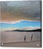 English Bay Vancouver Acrylic Print