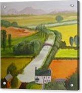 English Canal Acrylic Print