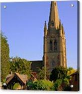 English Country Church Acrylic Print