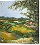 English Countryside Acrylic Print