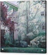 English Estate Acrylic Print