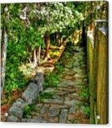 English Gardens Acrylic Print