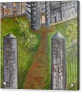 English Manor Acrylic Print