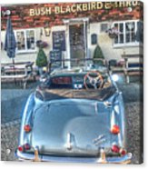 English Pub English Car Acrylic Print