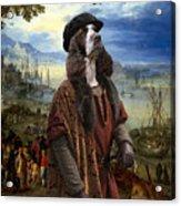 English Springer Spaniel Art Canvas Print  - The Port Acrylic Print