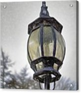English Victorian Style Park Lamp Acrylic Print
