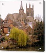 English Village Acrylic Print