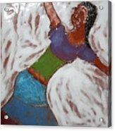 Enid - Tile Acrylic Print