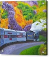 'enjoy Your Journey As Much As Your Destination' Acrylic Print