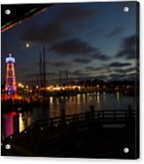 Enkhuizen By Night Acrylic Print