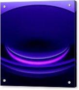 Enlarger Lens Under Blacklight Acrylic Print