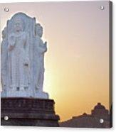 Enlightened Buddha  Acrylic Print