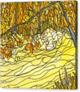 Eno River #25 Acrylic Print