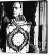 Enrico Caruso, Last Known Photo, 1921 Acrylic Print
