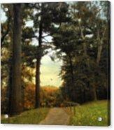 Enter Autumn Acrylic Print