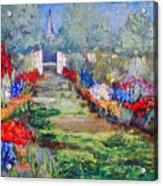 Enter His Gates Acrylic Print