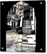 Enter London Acrylic Print