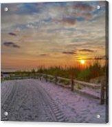 Enter Paradise- Avalon New Jersey Acrylic Print