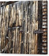 Enter The Barn Acrylic Print