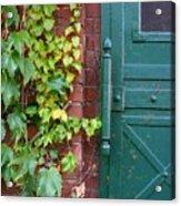 Enter Vine Door Acrylic Print
