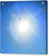 Entering The Solar Dimension Acrylic Print