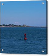 Entering Watch Hill Waters Acrylic Print