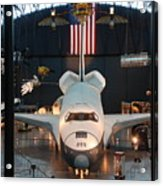 Enterprise Space Shuttle Acrylic Print by Renee Holder