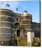Entrance Gate Of Angers Castle Acrylic Print