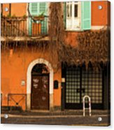 Entrance In Rome Acrylic Print