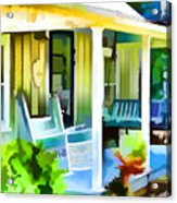 Entrance Of A House 1 Acrylic Print