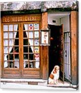 Entrance Paris France Acrylic Print
