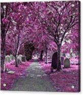 Entrance To A Cemetery Acrylic Print
