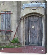 Entrance To An Old Chandlery Acrylic Print