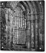 Entrance To Cong Abbey Cong Ireland Acrylic Print