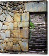 Entrance To Machupicchu Acrylic Print