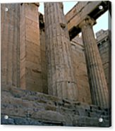 Entrance To Past Life   Acropolis Acrylic Print