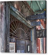 Entrance To Preservation Hall, New Orleans Acrylic Print