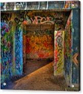 Entrance To The Asylum Acrylic Print