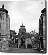 Entrance To The Mukteswar Temple In Bhubaneswar India Acrylic Print