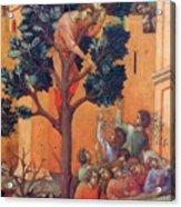 Entry Into Jerusalem Fragment 1311 Acrylic Print