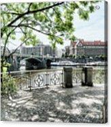 Entry To Prague Acrylic Print