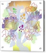 Enviro-web Florescence II Acrylic Print