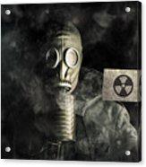 Nuclear Threat Acrylic Print