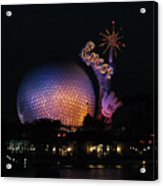 Epcot At Night II Acrylic Print