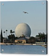 Epcot By Day Acrylic Print