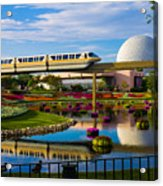 Epcot - Disney World Acrylic Print by Michael Tesar