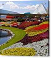 Epcot Gardens Acrylic Print