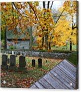Ephrata Cloister Cemetery Acrylic Print