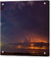 Epic Nebraska Lightning 002 Acrylic Print